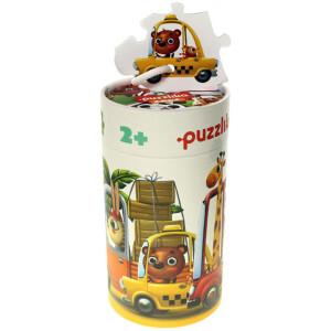 Παζλ συνδυασμών ''Οχήματα'' από την εταιρεία Cubika. Διαθέτει ένα μοναδικό σχεδιασμό και βοηθά το παιδί να μάθει να ταιριάζει τα κομμάτια που απεικονίζουν διαφορετικά ζωάκια στα σωστά αυτοκίνητα. Είναι κατασκευασμένο από πιεσμένο χαρτόνι