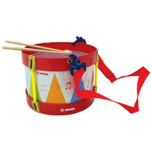Μεταλλικό τύμπανο για παιδιά από την εταιρεία Svoora που θα ενθουσιάσει τους μικρούς επίδοξους μουσικούς. Ο πρωτότυπος σχεδιαμός του με τη διάφανη επιφάνεια