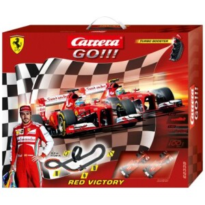 CARRERA SLOT 1:43 GO!!! RED VICTORY (62339)