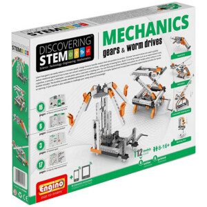DISCOVERING STEM MECHANICS Gears & Worm dri ENGINO