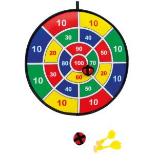 Ασφαλές παιχνίδι με βελάκια. Περιλαμβάνονται 3 βελάκια και 3 μπαλάκια velcro.