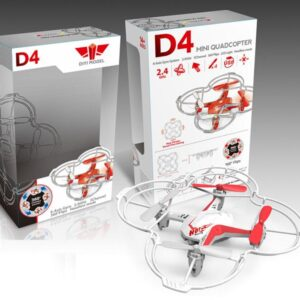 Quad-Copter DIYI D4 2.4G 5-channel Gyro (λευκό)