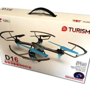 Quad-Copter DIYI D16 2.4G WIFI-CAMERA + Gyro/One Key Return