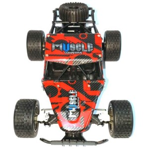 RC Buggy CHEETAH KING Muscle 1:18 2.4G (κόκκινο-μαύρο)