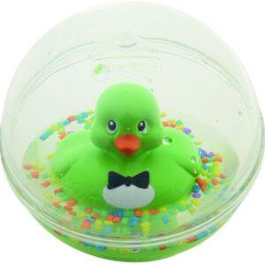 Το μπάνιο θα είναι ευχάριστο για το μικρό σας γιατί κολυμπάει μαζί του και του χαρίζει διασκεδαστικές στιγμές. Επίσης