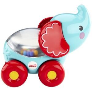 Το μωρό σπρώχνει τα οχήματα και οι μπαλίτσες κουνιούνται αναπτύσσοντας τις κινητικές του ικανότητες. Σε 4 διαφορετικά σχέδια με πολύχρωμες μπαλίτσες που χοροπηδάνε στο εσωτερικό ενώ το μωρό σπρώχνει. Μέγεθος ιδανικό για τα χεράκια του μωρού.