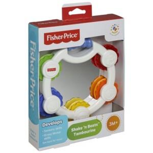 Ντέφι με καθρέφτη και δισκάκια με ήχους κουδουνίστρας με πολλά διαφορετικά χρώματα και με πολλές εκπλήξεις για το μωρό.