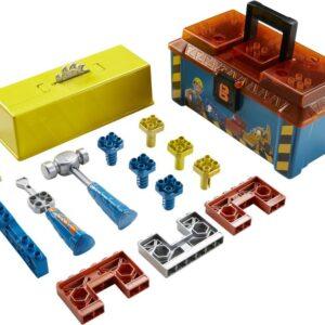 Τα παιδιά θα αισθανθούν ότι είναι μέλος της ομάδας του Μπομπ του Μάστορα καθώς παίζουν με τα εργαλεία και τα αποθηκεύουν μέσα στην εργαλειοθήκη! Ο μικρός  σας  μάστορας έχει τα κατάλληλα  εργαλεία για  κάθε εργασία