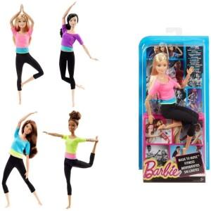 Barbie Beauty Αμέτρητες Κινήσεις-3 Σχέδια
