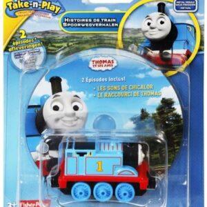 Ένα υπέροχο σετ δώρου με μεταλλικό τρενάκι Τόμας και DVD με δύο από τα πιο διασκεδαστικά και γεμάτα δράση επεισόδια της αγαπημένης τηλεοπτικής σειράς των παιδιών! Το τρενάκι χρησιμοποιείται με οποιοδήποτε φορητό σετ Collectible Railway™.