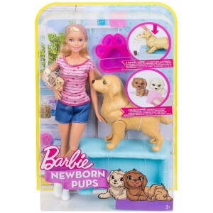 Barbie & Τα Νεογέννητα Κουταβάκια