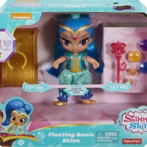"""Ιπτάμενα τζίνι που μαγεύουν! Κάθε κούκλα κάνει κάτι διαφορετικό!  Τα παιδάκια μπορούν να ενώσουν τα χέρια των τζίνι και να τα δουν να παίρνουν θέση οκλαδόν για να ταξιδέψουν πάνω σε ένα μαγικό χαλί  ή να πάρουν τη χαρακτηριστική τους """"ιπτάμενη"""" πόζα. Για  περισσότερη διασκέδαση"""