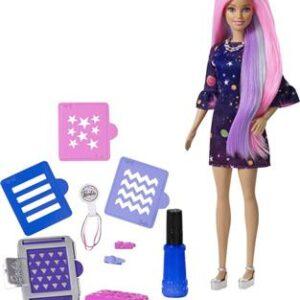 Barbie Μαλλιά Ουράνιο Τόξο
