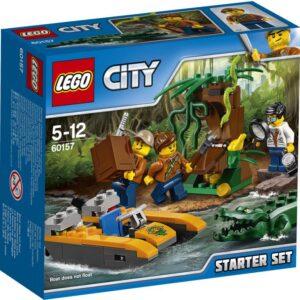 Εξερεύνησε τη μυστηριώδη ζούγκλα της LEGO® City και κάνε απίστευτες ανακαλύψεις! Φόρτωσε τον εξοπλισμό στη βάρκα σου και κατευθύνσου προς τα ανεξερεύνητα βάθη. Δες αυτό τον εξωτικό βάτραχο! Σταμάτα και πάρε το μεγεθυντικό φακό σου για να ρίξεις μια ματιά