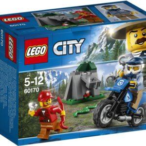 Πήγαινε για μια LEGO® City περιπολία στο βουνό με την μότοκρος μηχανή σου! Κάνε μια βόλτα στη βουνοπλαγιά ψάχνοντας για την κρυψώνα των κλοπιμαίων του κακοποιού. Εεε