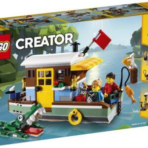 Επιβιβαστείτε όλοι για διασκέδαση και περιπέτεια στο Πλωτό Σπίτι στο Ποτάμι! Αυτό το πολύχρωμο LEGO® Creator 3σε1 μοντέλο είναι γεμάτο με απίθανα χαρακτηριστικά και λειτουργίες
